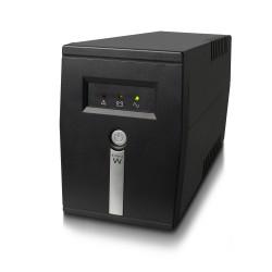 Ewent - EW3946 sistema de alimentación ininterrumpida (UPS) 600 VA 1 salidas AC Línea interactiva