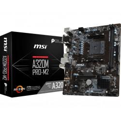 MSI - A320M PRO-M2 placa base Zócalo AM4 Micro ATX AMD A320