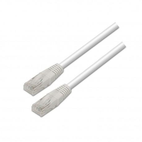 AISENS - A135-0250 cable de red 1 m Cat6 U/UTP UTP Blanco