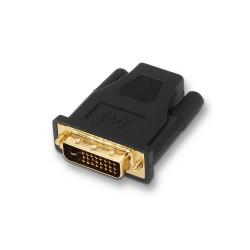 AISENS - A118-0091 adaptador de cable DVI 24+1 HDMI A Negro