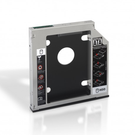 AISENS - A129-0152 accesorio para portatil Notebook HDD/SSD caddy