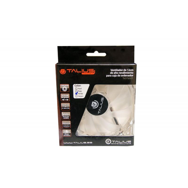 TALIUS - ventilador caja 4 led