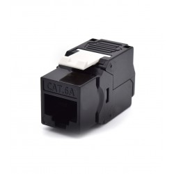 WP - WPC-KEY-6AUP-TL/BL conector RJ45 Negro, Blanco
