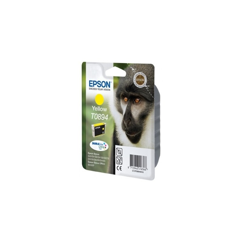 Epson - Monkey Singlepack Yellow T0894