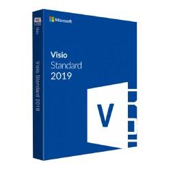 Microsoft - Visio Standard 2019 Open Value License (OVL) 1 licencia(s) Español