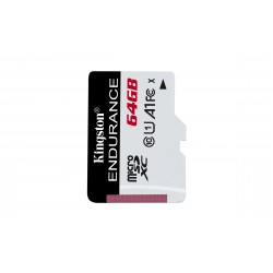 Kingston Technology - High Endurance memoria flash 64 GB MicroSD UHS-I Clase 10