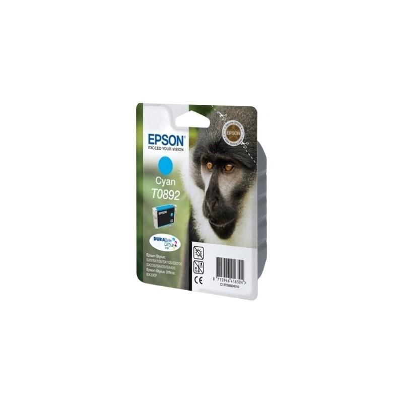 Epson - Monkey Singlepack Cyan T0892