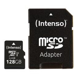 Intenso - 128GB microSDXC memoria flash Clase 10 UHS-I