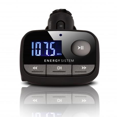 Energy Sistem - Car MP3 f2 Black Knight 87.5 - 108MHz Negro transmisor FM