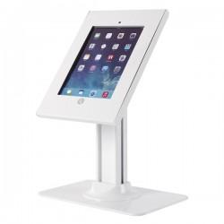 Newstar - TABLET-D300WHITE soporte de pie para pantalla plana Soporte de suelo con ruedas para pantalla plana Blanc