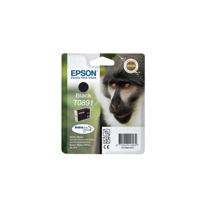 Epson - Monkey Singlepack Black T0891