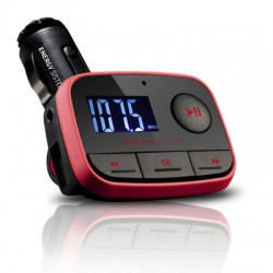 Energy Sistem - Car MP3 f2 Racing Red 87.5 - 108MHz Negro, Rojo transmisor FM