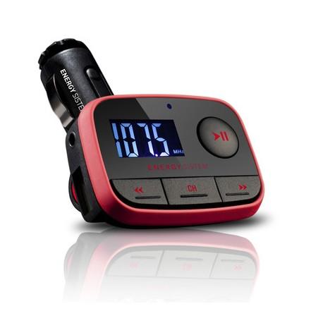 Energy Sistem - Car MP3 f2 Racing Red 87.5 - 108MHz Negro, Rojo transmisor FM