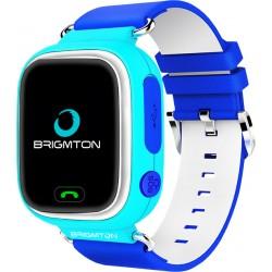 """Brigmton - BWATCH-KIDS-A reloj inteligente Azul, Blanco LCD 3,1 cm (1.22"""") Móvil GPS (satélite)"""