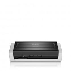 Brother - ADS-1700W escaner 600 x 600 DPI Escáner con alimentador automático de documentos (ADF) Negro, Blanco A4