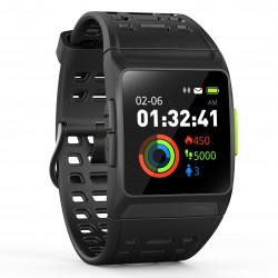 Leotec - Training GPS Total Heart reloj inteligente Black IPS GPS (satélite)
