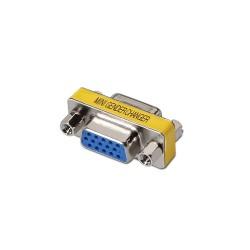 AISENS - A114-0082 cable gender changer VGA D-sub D-sub Azul, Plata