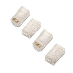 AISENS - A138-0290 conector RJ-45 Transparente
