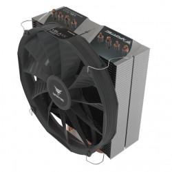 Nfortec - Vela KX - Disipador CPU, Color Negro