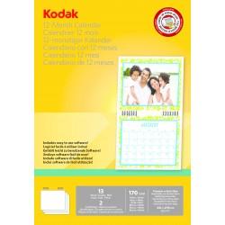 Kodak - Calendario para impresora de tinta. incluye 13 hojas, sofware y nudillo