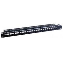MCL - PB-UNI6/24BN panel de parcheo 2U