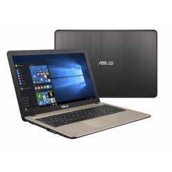 "ASUS - A540NA-GQ265 Negro, Chocolate Portátil 39,6 cm (15.6"") 1366 x 768 Pixeles Intel® Celeron® N3350 4 GB 256 GB"