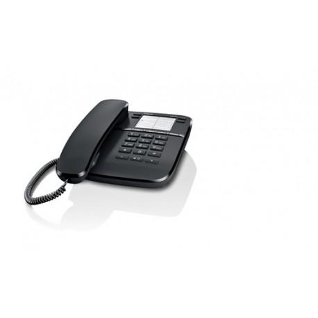Gigaset - DA410 Teléfono analógico Negro