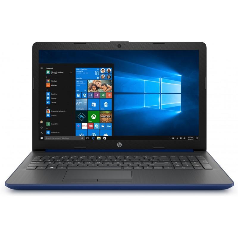 HP - 15-da0233ns Negro, Azul, Plata
