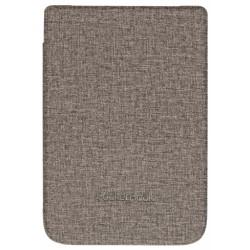 """Pocketbook - WPUC-627-S-GY funda para libro electrónico Folio Marrón, Gris 15,2 cm (6"""")"""