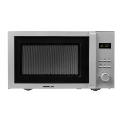 MEDION - MD 18689 Encimera Microondas con grill 23 L 800 W Plata
