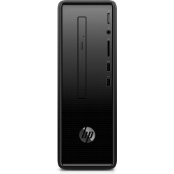 HP - Slimline 290-a0015ns 7.ª generación de APU AMD Serie A6 A6-9225 8 GB DDR4-SDRAM 256 GB SSD Negro Midi Torre PC