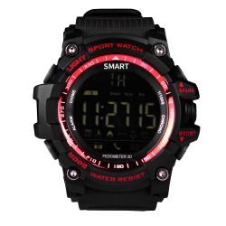 "Brigmton - BWATCH-G1-R reloj inteligente Negro, Rojo 2,84 cm (1.12"")"