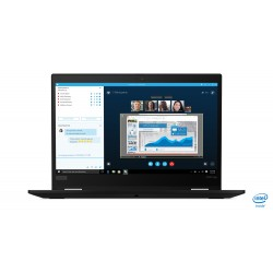 "Lenovo - ThinkPad X390 Yoga Híbrido (2-en-1) Negro 33,8 cm (13.3"") 1920 x 1080 Pixeles Pantalla táctil 8ª generación de procesad"