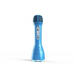 iDance - Party Mic PM-6 Micrófono para karaoke Azul