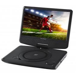 "Denver - MT-783NB Reproductor de DVD portátil Convertible Negro 17,8 cm (7"")"