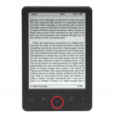 Denver - EBO-620 lectore de e-book 4 GB Negro