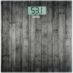 Laica - Electronic personal scale Báscula personal electrónica Plaza Madera