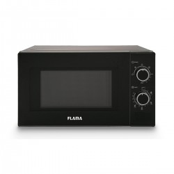 Flama - 1888FL microondas Encimera 20 L 700 W Negro
