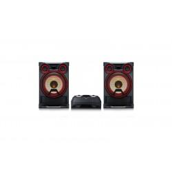 LG - CK99 sistema de audio para el hogar Minicadena de música para uso doméstico Negro, Rojo 5000 W