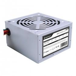UNYKAch - ATX 500W unidad de fuente de alimentación 20+4 pin ATX Plata - 52099