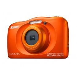 """Nikon - COOLPIX W150 Kit Cámara compacta 13,2 MP CMOS 4160 x 3120 Pixeles 1/3.1"""" Naranja"""