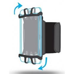 "Mobilis - ARM BAND 4-6IN . funda para teléfono móvil 15,2 cm (6"") Brazalete caso Negro"