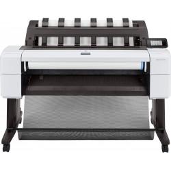 HP - Designjet T1600 impresora de gran formato Inyección de tinta térmica Color 2400 x 1200 DPI 914 x 1219 mm Ethernet - 3EK10A