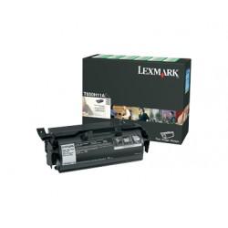 Lexmark - T650H11E Cartucho 25000páginas Negro tóner y cartucho láser