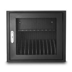 V7 - Estación de carga para 12 ordenadores portátiles: proteja, almacene y cargue Chromebooks, ordenadores portátiles y tabletas