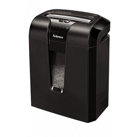 Fellowes - 63Cb Cross shredding Negro triturador de papel