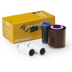 Zebra - Color Ribbon YMCKO cinta para impresora 750 páginas