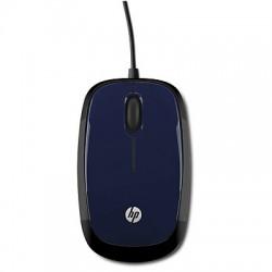 HP - X1200 USB Óptico 1200DPI Ambidextro Negro, Azul ratón