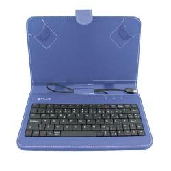 """TALIUS - funda con teclado para tablet 7"""" CV-3003 blue"""