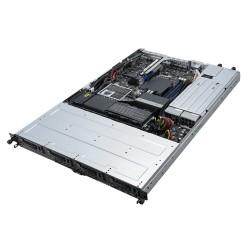 ASUS - RS300-E10-RS4 Intel C242 LGA 1151 (Zócalo H4) Bastidor (1U) Negro, Metálico